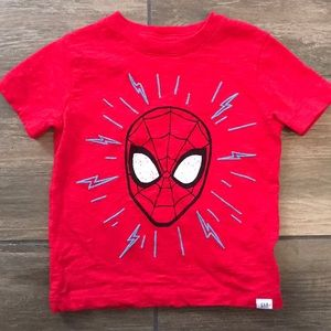 Like New! Gap/Marvel Spider-Man Top in 2t